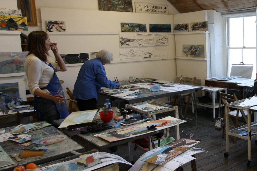 Painting holidays in St Ives Cornwall